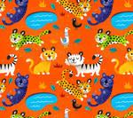 Jungle Cat Pattern