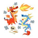Pair o' dragons