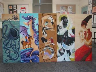 Pillar Paintings