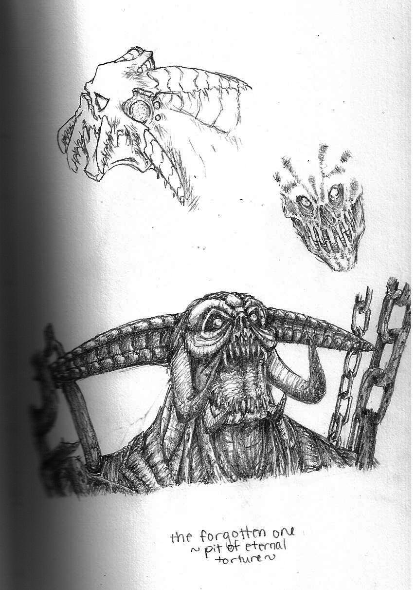 Castlevania Loi Boss Sketch By Dismesmenagerie On Deviantart
