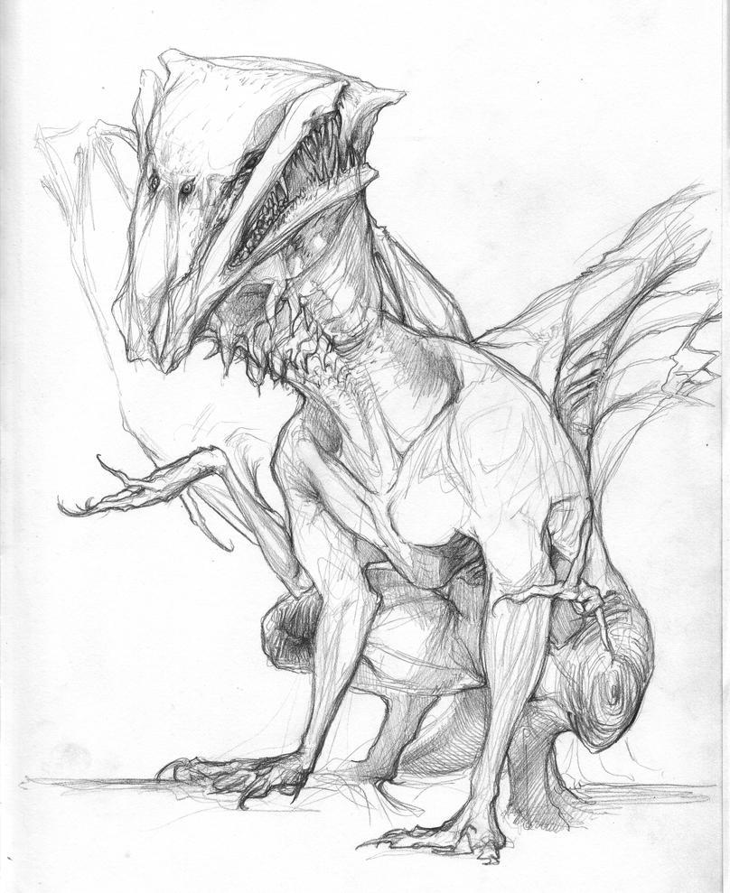 Creature 005 by Zanikal