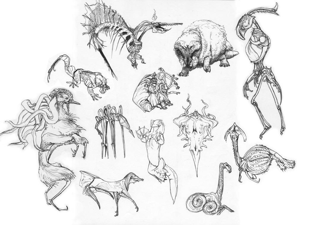 doodle dump by Zanikal