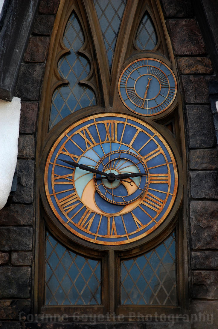 Hogwarts Clock Tower By Wordweaver1001 On Deviantart