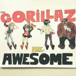 THE GORILLAZ ARE AWESOME