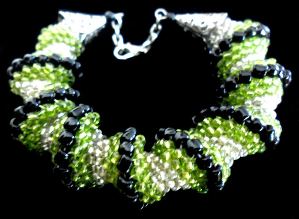 celini spiral bracelet by slinkyskinked