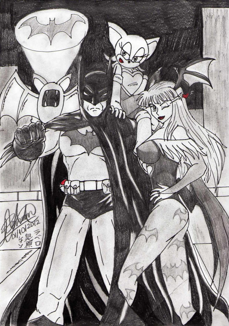 The new Bat Family by AltaicTiger