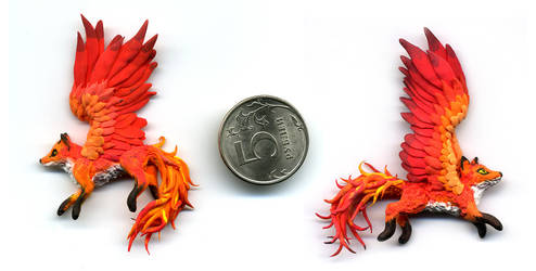 Firefoxes by chaoka