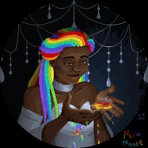 Rainbow Portrait by micamone