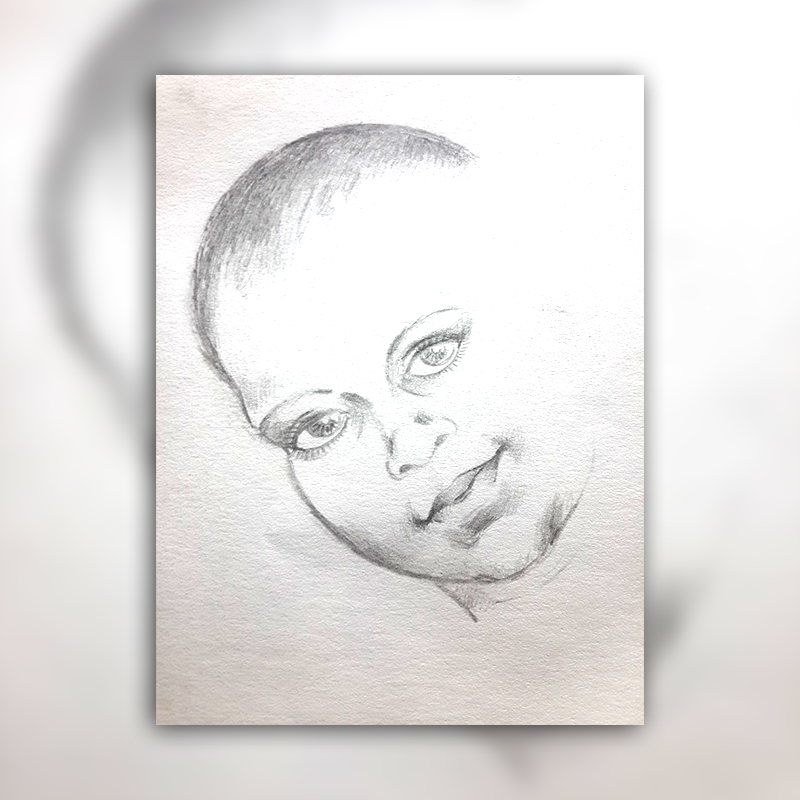 pencil sketching by DIneshThennarasan