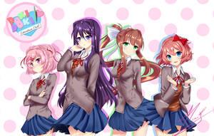 Doki Doki Literature club!! by Neru-kuroshiru