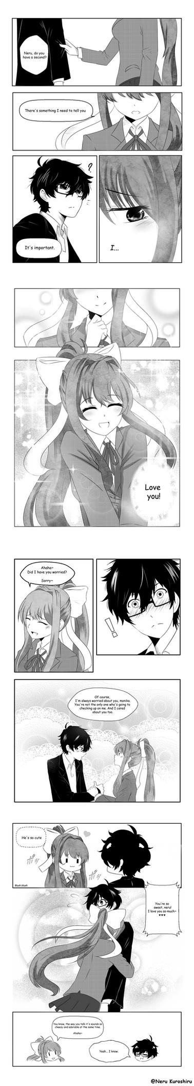 DDLC: After story [short manga] by Neru-kuroshiru