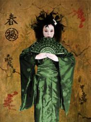 Spring Geisha by TheFantaSim