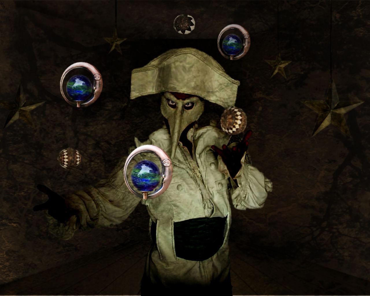 Globe Juggler by thefantasim