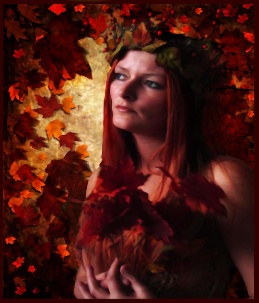 Autumn Maiden by TheFantaSim
