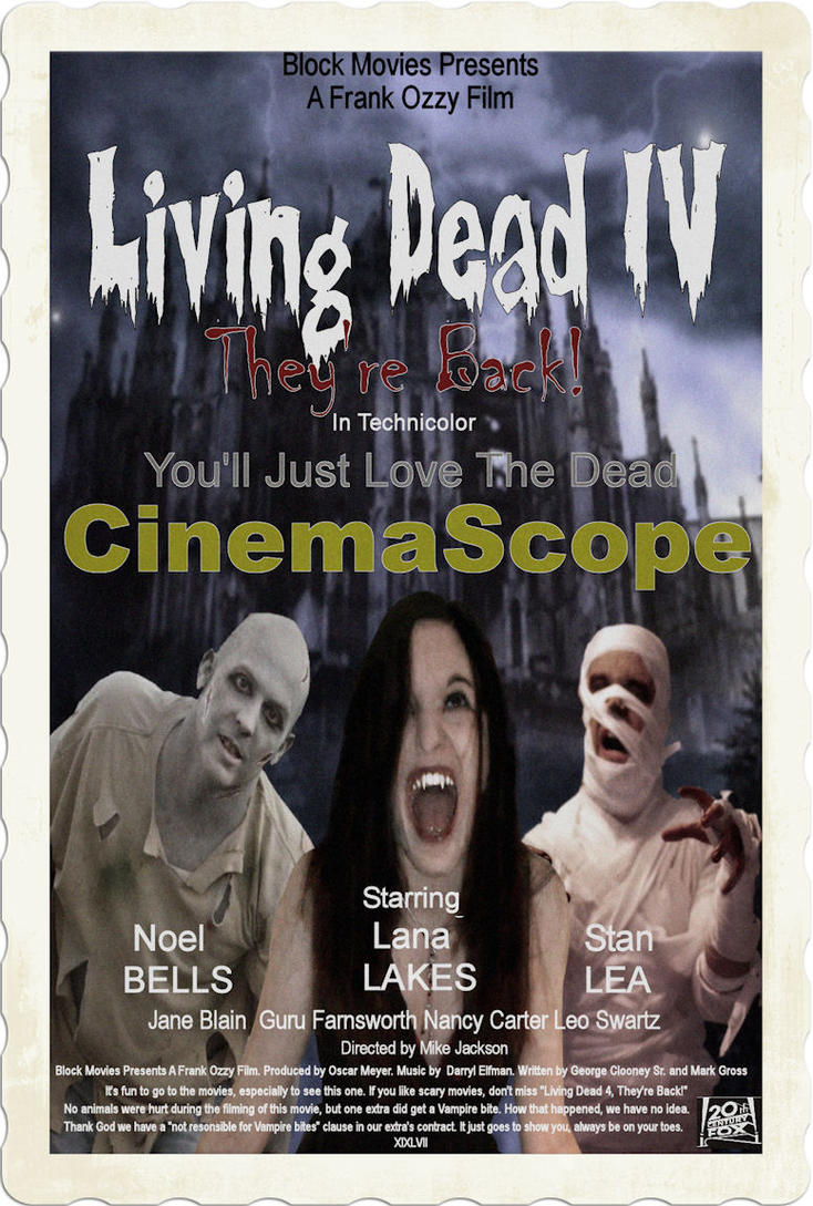 The Living Dead Movie Poster by TheFantaSim