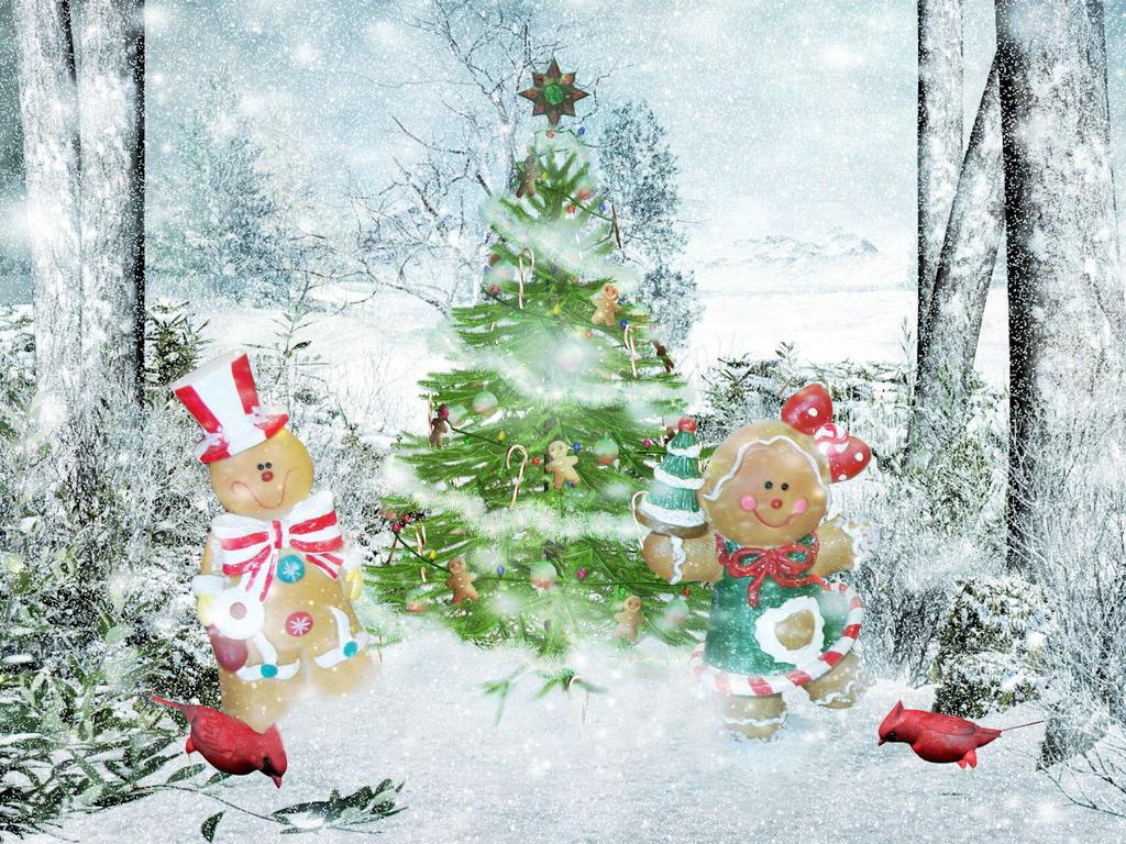 Gingerbread Christmas by thefantasim