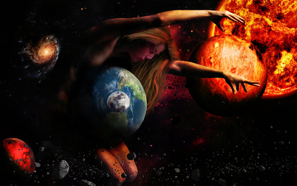The  Goddess  Gaia by TheFantaSim