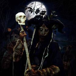Dark Autumn Night by TheFantaSim