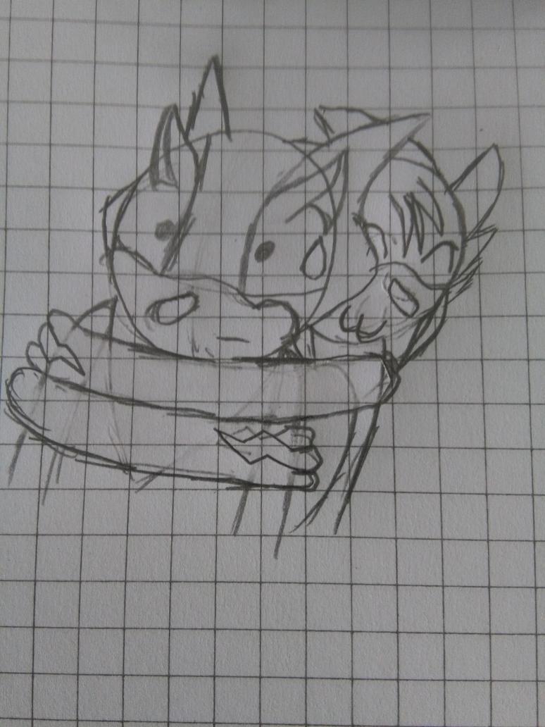 Big hug by XalenTheWolf