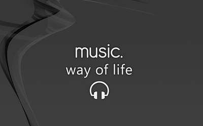 Music...Way of life Dark.1440. by Takeuswiththefloods
