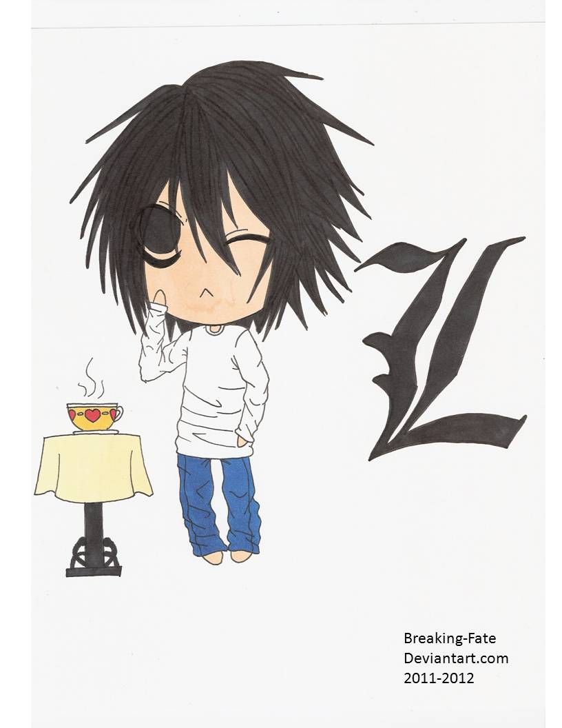 L Lawliet Chibi by Breaking-Fate on DeviantArt