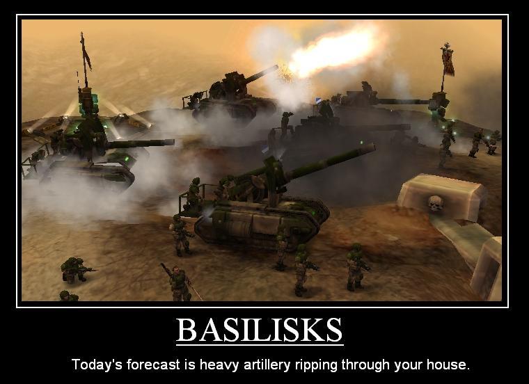Basilisks by NavalAce