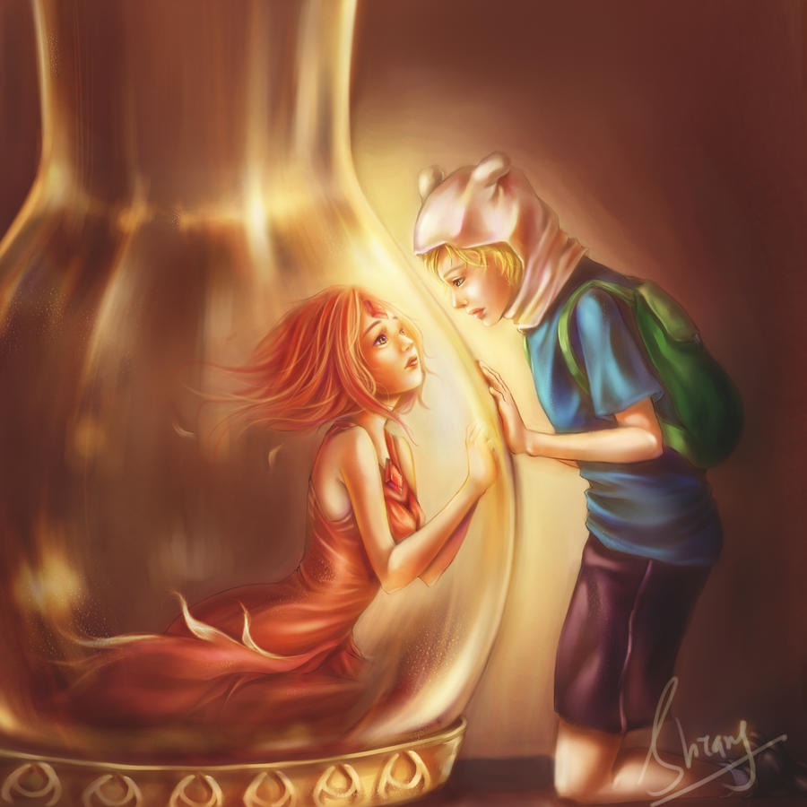 Finn And Flame princess by ShiangEve