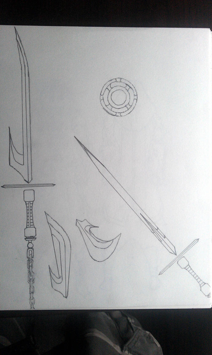 Bleach Sword Art sketch Updated by KingJude