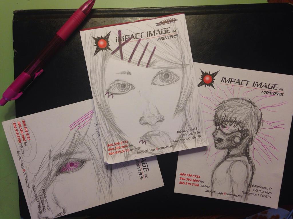 Tokyo Ghoul Sketch Dump by TheyCallMeSmeegal39