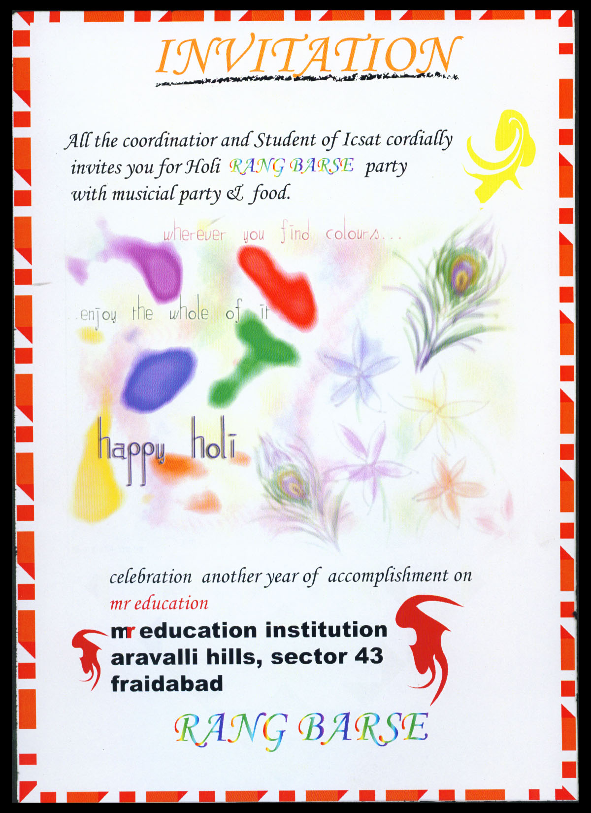 Invitation card design by yashmeet135 on deviantart invitation card design by yashmeet135 invitation card design by yashmeet135 stopboris Choice Image
