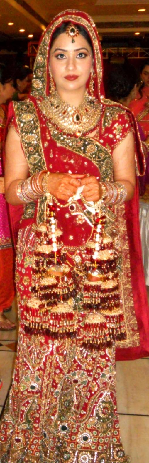 Indian Punjabi Women in Bridal Dresses by yashmeet135 on DeviantArt