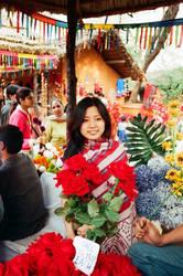 flower girl by yashmeet135