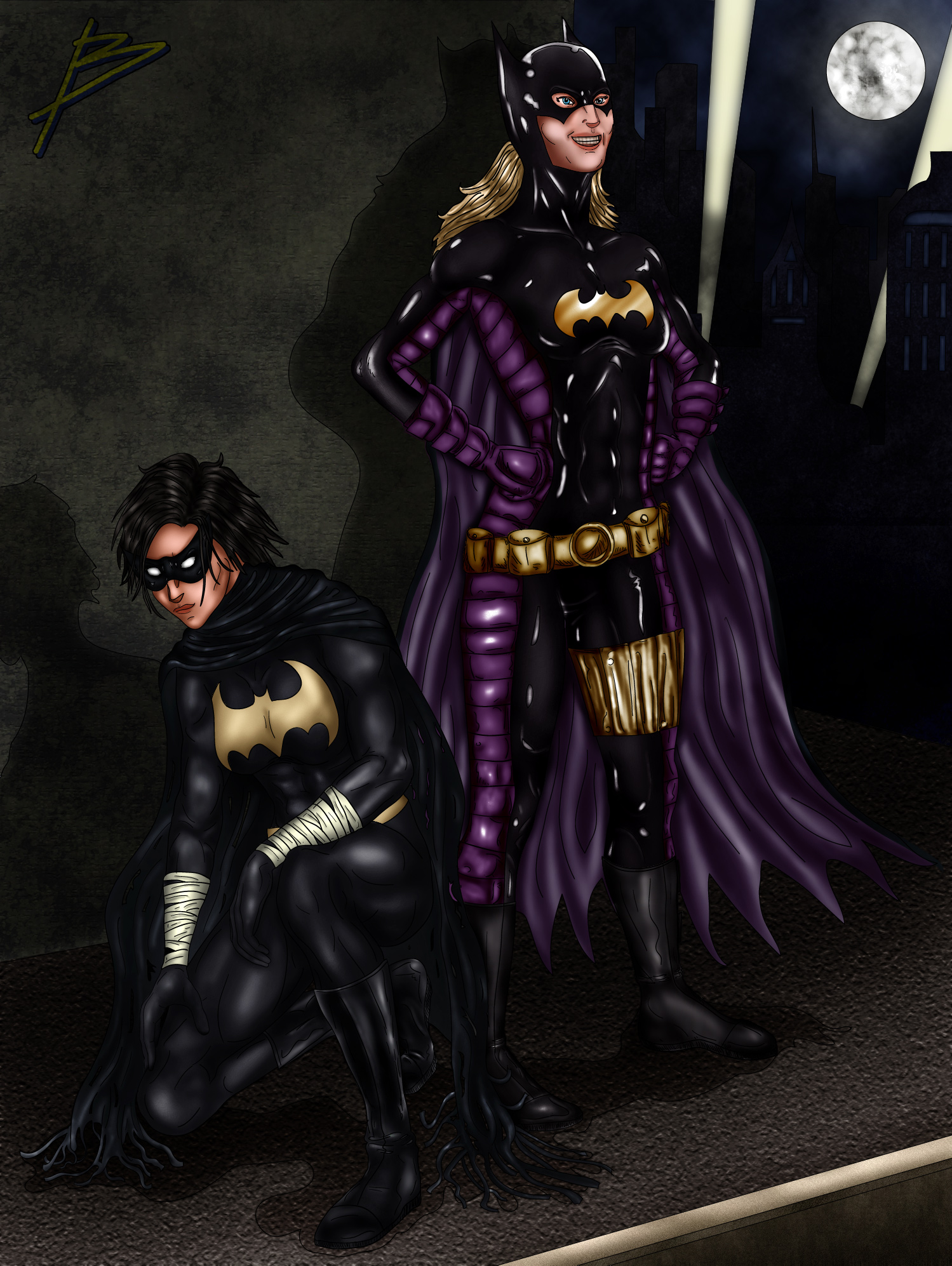 Batgirls by bszpak