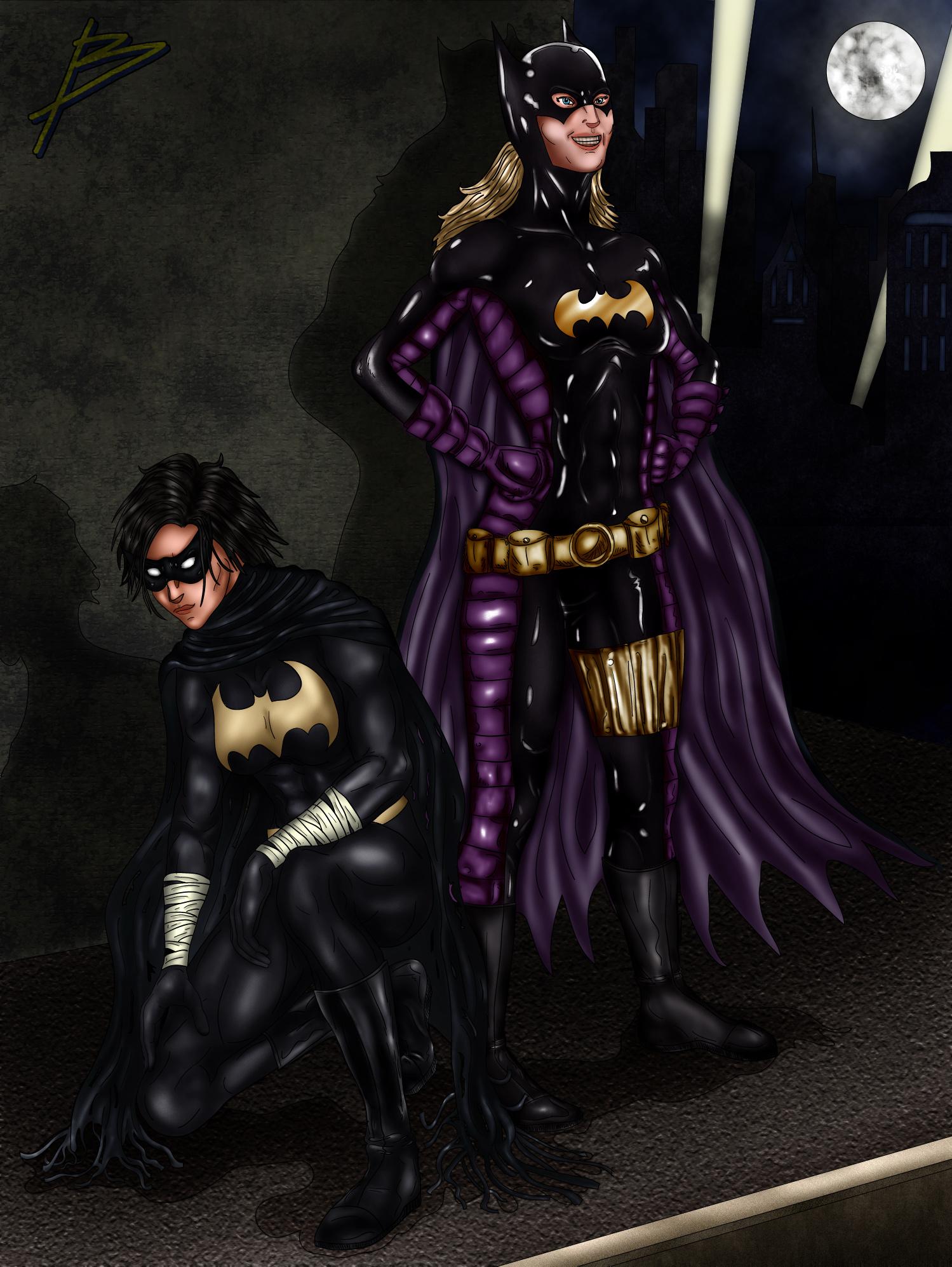 Batgirls by bszpak