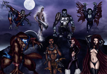 Marvel Monsters by bszpak