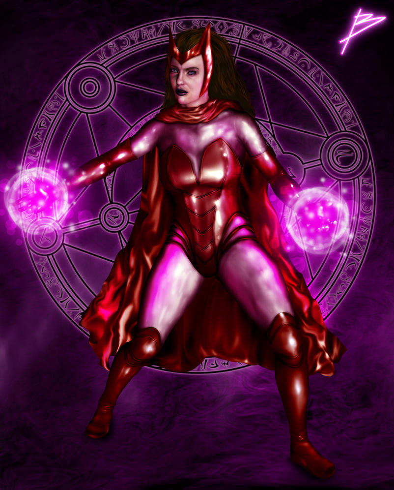Scarlet Witch by bszpak