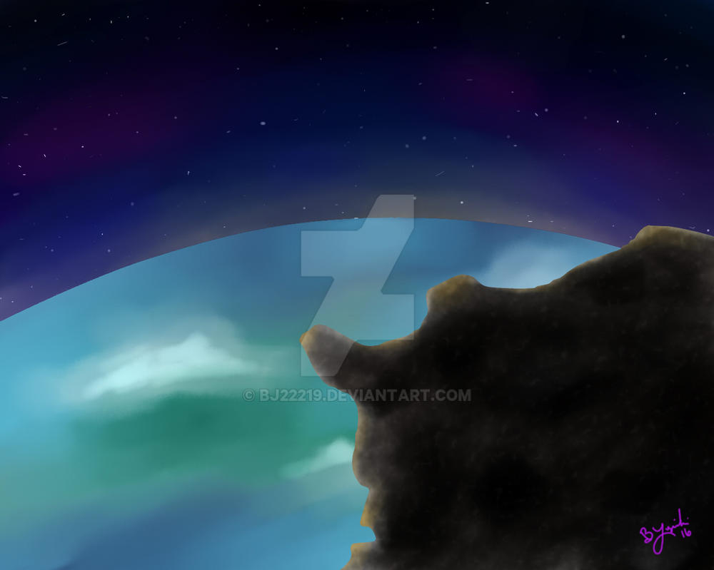 Meteor in Space by bj22219