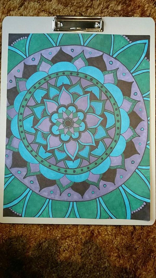 Tanner's Mandala by bj22219