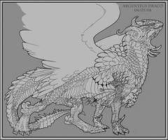 LD:The Silver Dragon -Consept- by ObloquyCondemed