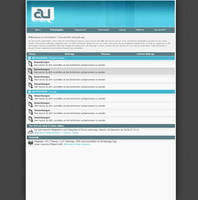 artistunion - forum layout by painsworld
