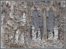 Sagrada Familia Exterior by Kittensoft