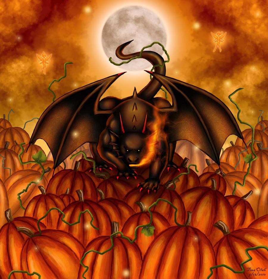 King of the Pumpkin Patch by Kittensoft