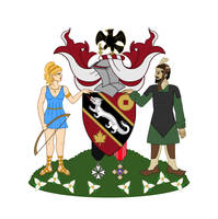 Derwin Mak Coat of Arms - Updated by Kittensoft