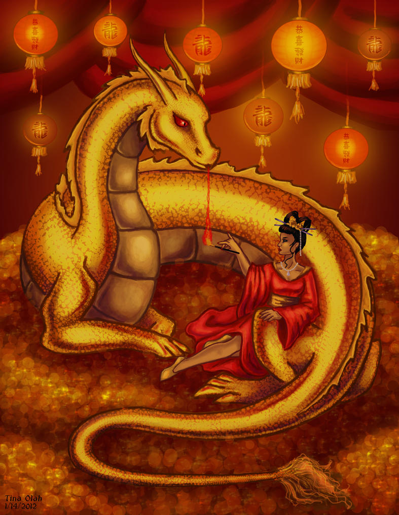 Year of the Dragon by Kittensoft