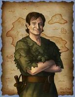 Robin Williams - Peter Pan by Kittensoft