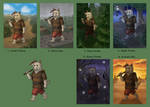 Schoolism - Final Assignment Thumbnails by Kittensoft