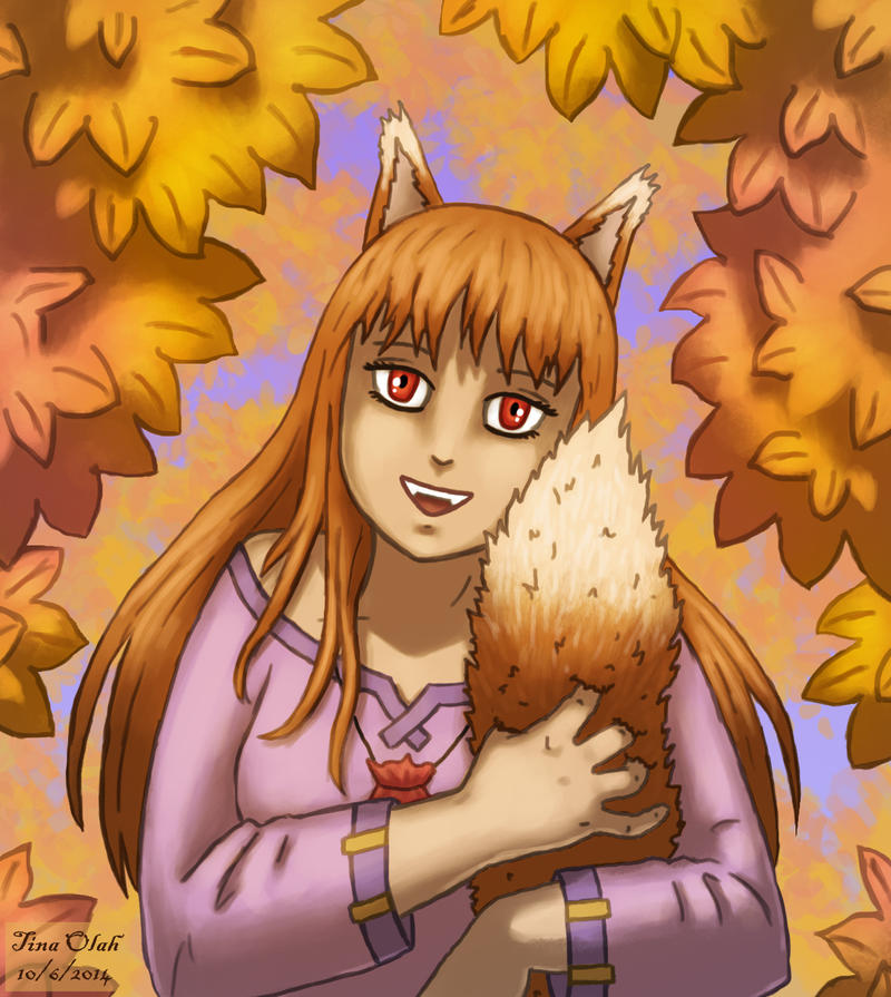 Holo and her Tail