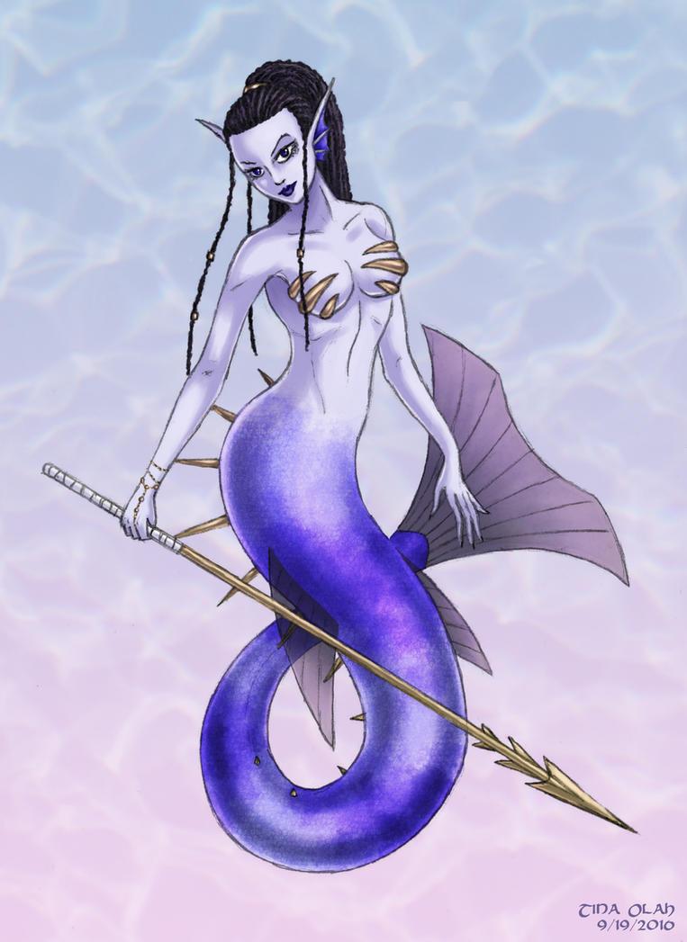 Dangerous Mermaid by Kittensoft