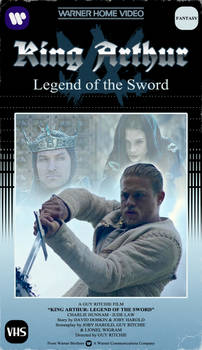 King Arthur VHS Cover