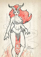 Scalemail Demoness by SuperEdco